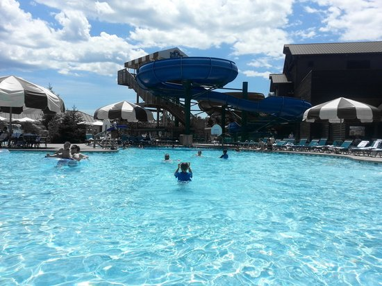 Great Wolf Lodge: Outdoor waterslides