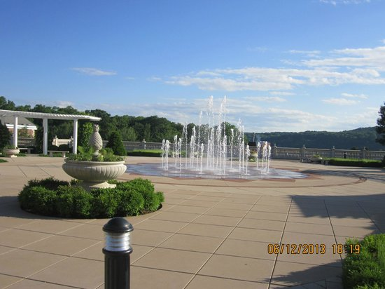 American Bounty: View outside the restaurant building at CIA