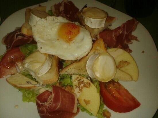 Bistrot Biarrot: salade seguin