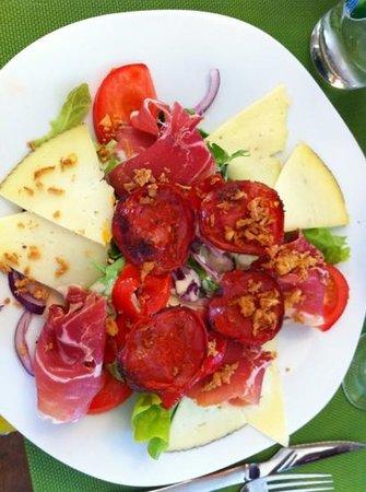 Bistrot Biarrot: salade euskadi sans l oeuf
