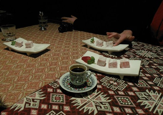 Ahmet's Turkish Restaurant: Turkish Delight was good