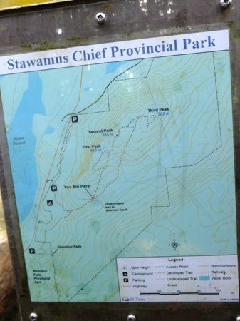 Stawamus Chief Park : Wanderwege