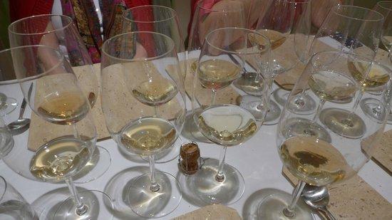 Aponiente: copas maridaje