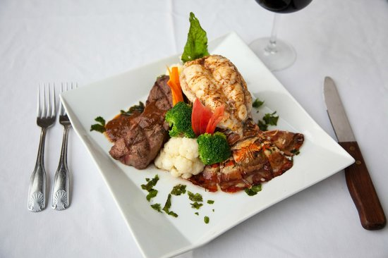 Moon Dance Cliffs: Surf and Turf from Annie's Restaurant