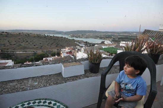 La Casa de Bovedas Charming Inn: Relaxing balcony with fantastic views