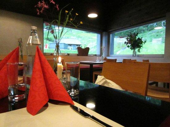Restaurant Rossalm: Il ristorante e la vista