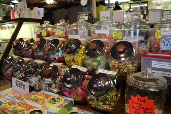 The Brick Store: old time candies