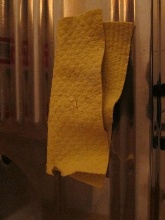 Hotel Faisst: afwasdoekje legt er dan geen