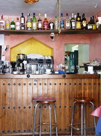 La Taberna de Oscar: Bar interior