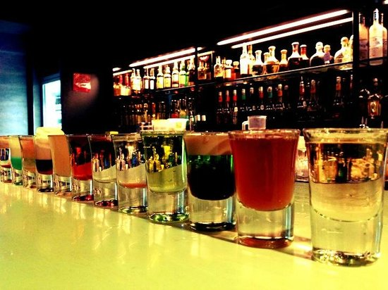 Hall of fame challenge picture of chupitos shots bar singapore tripadvisor - Picture of bar ...