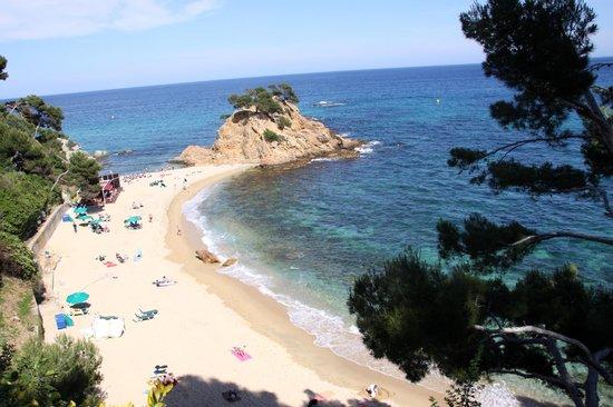 Silken Park Hotel San Jorge: playa del hotel