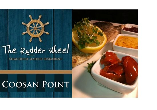 The Rudder Wheel: Catch of the day... Fillet of Hake, Served with Hand Cut Fries and Side Salad