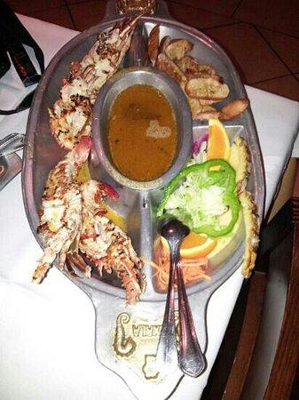 Restaurante Oxala: langusta