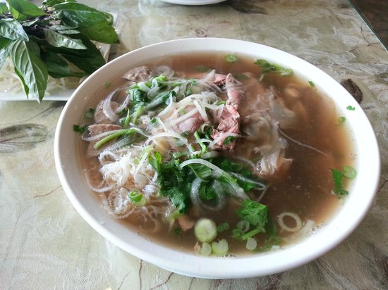 Beef pho with tendons - Picture of Pho 99 Authentic ...
