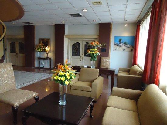 Hotel Terraza: Recepcion del Hotel.