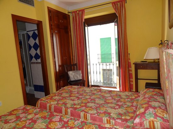 Hotel San Francisco - Ronda: vue sur petit balcon