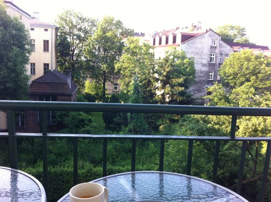 4 Seasons Apartments Cracow : Balcony View