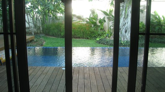 Two Villas Holiday Oriental Style Naiharn Beach : View from Room