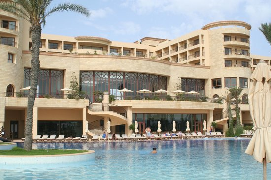 Movenpick Resort & Marine Spa Sousse: Hotel rear from pool