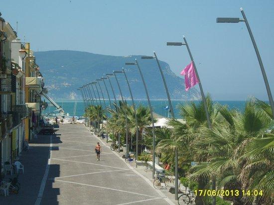 Hotel Bianchi Nicola: Panorama