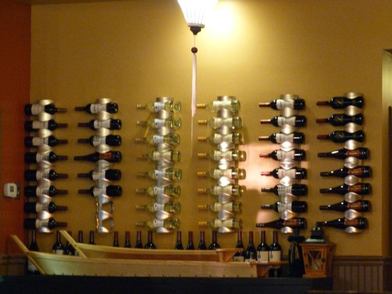 "Koon Manee Thai & Sushi Restaurant: the wine ""cellar"""