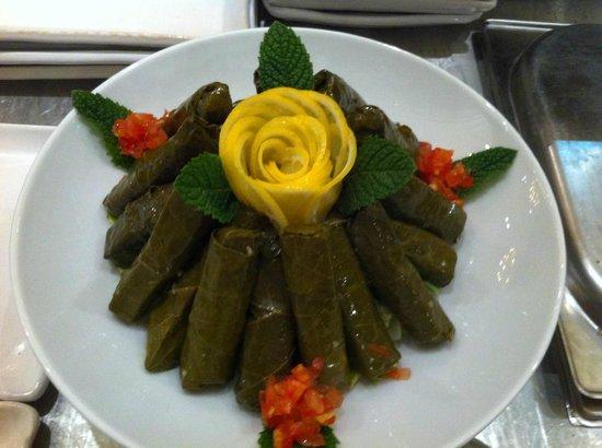 Delices d'Orient : feuilles de vigne