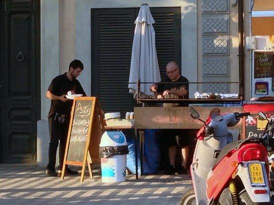 Pasko's Balkan Grill Express : David & Patron Pasko