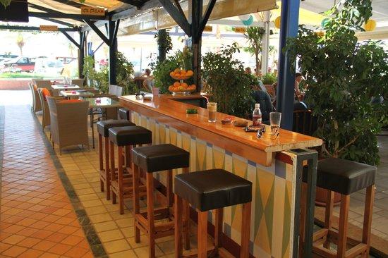 Alibi Cafe - Cocktail Bar: The bar.