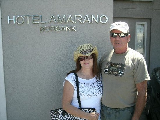 Hotel Amarano Burbank: Sadly, checking out!