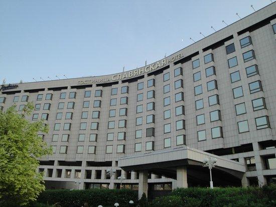 Radisson Slavyanskaya Hotel & Business Centre, Moscow: Fachada do Hotel Radisson em Moscou