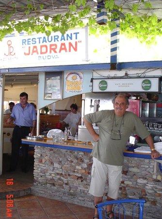 Jadran Kod Krsta: Restaurant Jadran, Budva