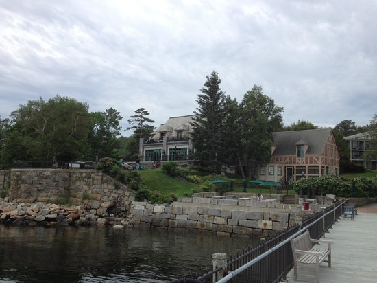 Holiday Inn Bar Harbor Regency: A view from the bay.