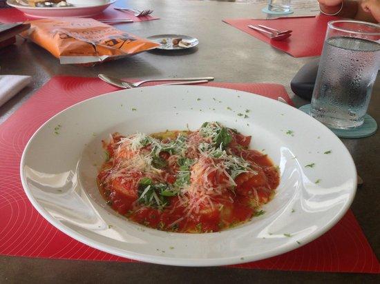 Hotel Laguna Mar: Seafood Raviolis