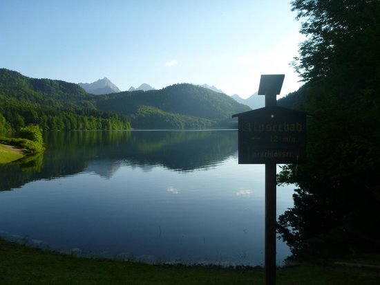 Hotel Mueller: Alpsee - just a short walk from hotel. The trail goes around the lake and is gorgeous.