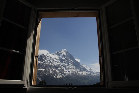 Berghaus Bort: This is a view from our room.