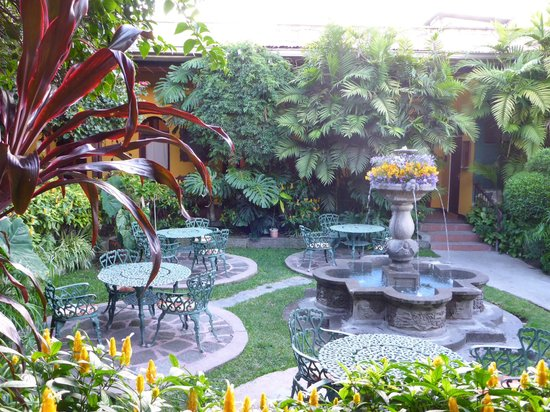 Hotel Casa Antigua: A view of the courtyard