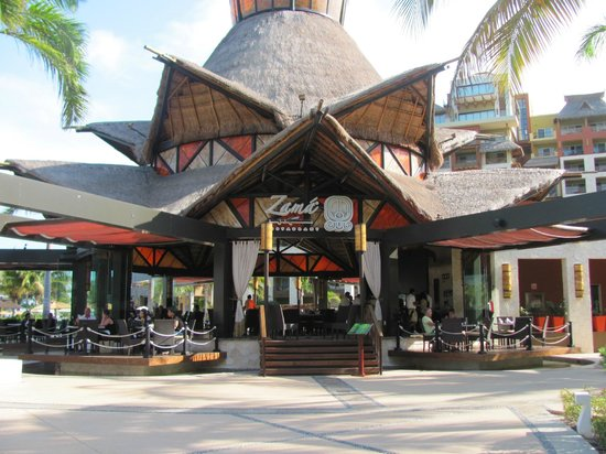 Villa del Palmar Cancun Beach Resort & Spa : Resto mexicain
