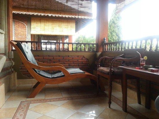 Cendana Resort and Spa: Balkon