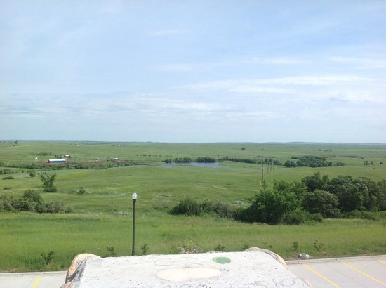 Fort Yates, ND: View from parking lot