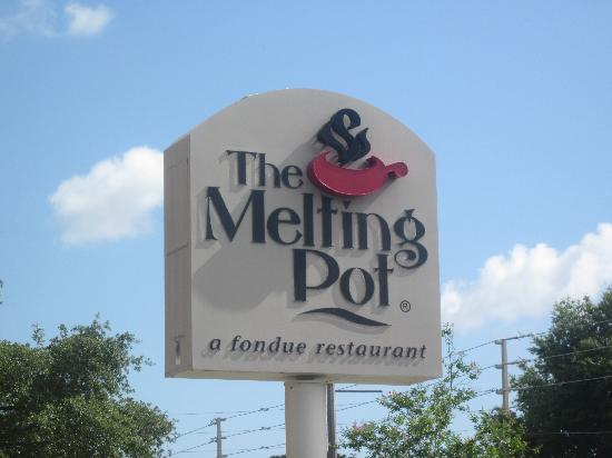 The Melting Pot: View of the sign