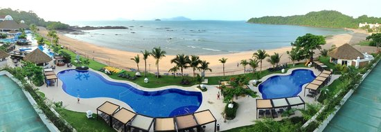 Secrets Playa Bonita Panama Resort & Spa: The view from the balcony of room 234