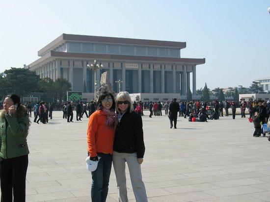 Beijing Private One-day Tour Guide AnnieLi : Tiananmen Square
