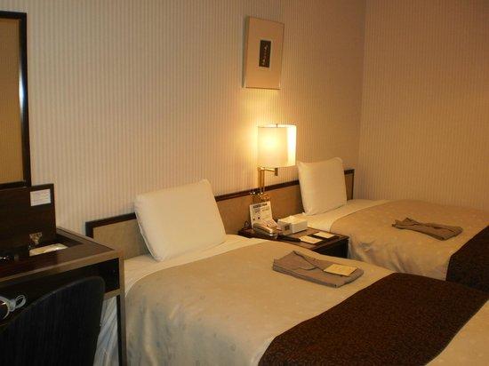 Hotel Sunroute Kyoto : Twin room