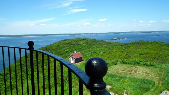 Seguin Island and Lighthouse: View from the Catwalk