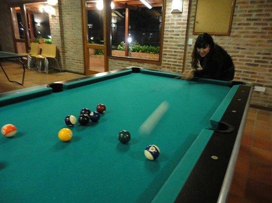 Il Belvedere: Salão de jogos