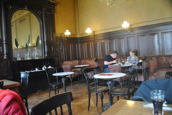 Cafe Sperl : Inside view