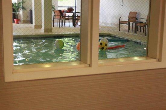 Courtyard Chicago Bloomingdale: nice pool