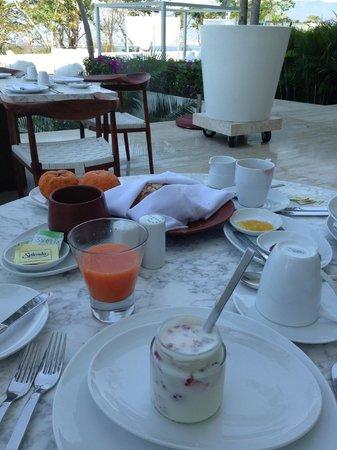 Hotel Encanto: Desayuno delicioso
