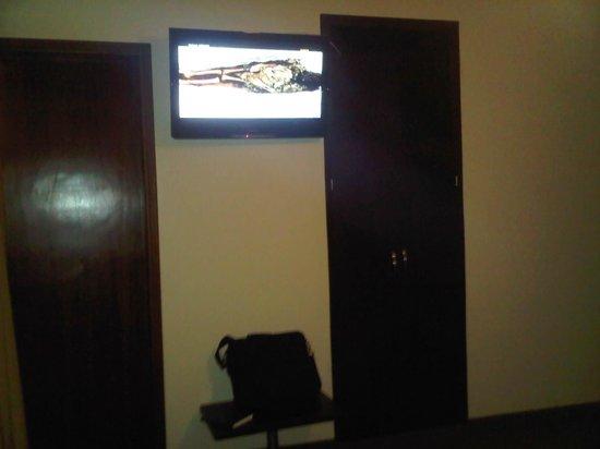 Gran Hotel Delicias: tv plasma