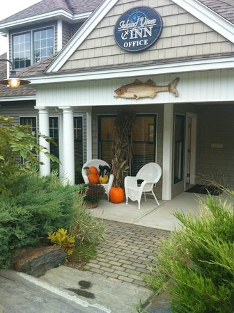 Island View Inn: Beautiful Setting!